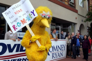 Quote of the day: Big Bird bites back