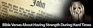 bible verses to give strength and encouragement