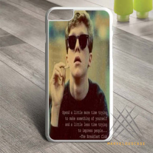 The Breakfast Club Brian Quotes Custom case for iPhone, iPod and iPad
