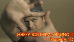 Happy Early Birthday Bruno