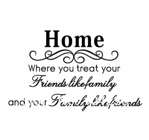 Family Reunion Quotes Home family like friends