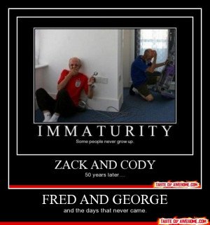 Funny - Fred and george