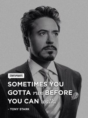 and tony stark quotes
