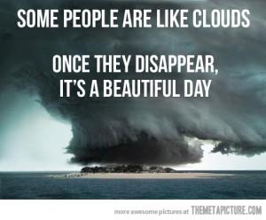funny cloud selective rain storm