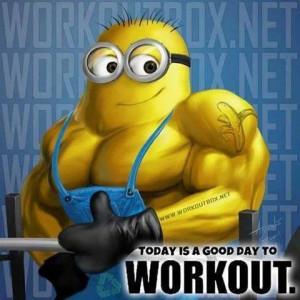 Minions workout!
