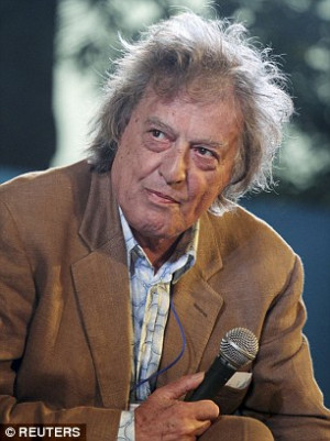Sir Tom Stoppard admits inventing a quote from a fake professor to go ...