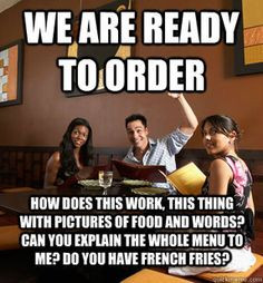 no we do not have french fries we are a friggin italian restaurant ...