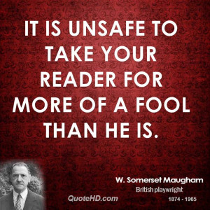 Somerset Maugham Quotes Quotehd