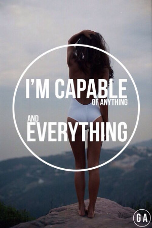 capable of anything and everything