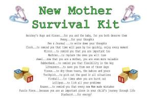 First Time Parent Survival Kit