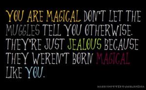harry potter, magic, muggle