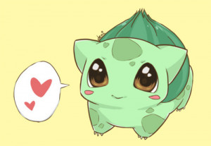 bulbasaur, cute, pokemon
