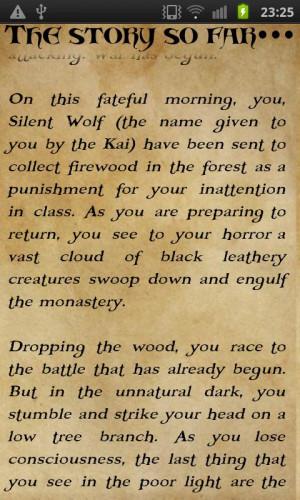 Lone Wolf Sayings Du jour : lone wolf saga