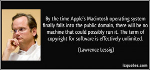 By the time Apple's Macintosh operating system finally falls into the ...