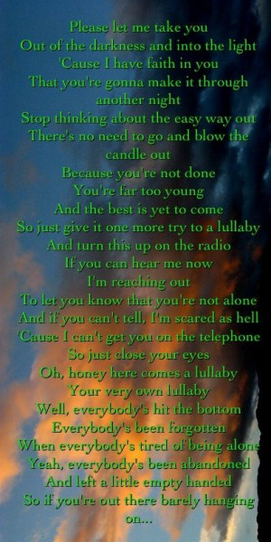 Lullaby- Nickelback