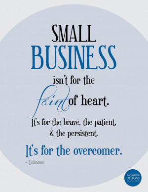 Small Business Inspiration: Persistence Quote
