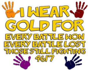 Never Forget. Childhood Cancer Awareness! Don't let them fight alone ...