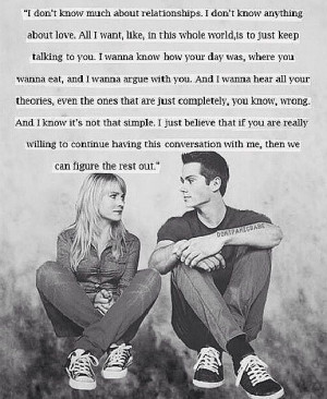 The First Time~Dylan O'Brien
