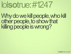... them to die in a jail cell than get out of their punishment by death