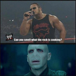 "Dwayne ""The Rock"" Johnson asks somebody:"