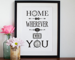 ... Engagement, Anniversary, Personalised Gift, Home Sweet Home, Love