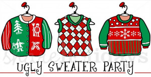 ... Christmas Sweater Party Invitation Template Ugly sweater party