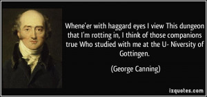 More George Canning Quotes