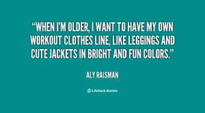 Aly Raisman Quote