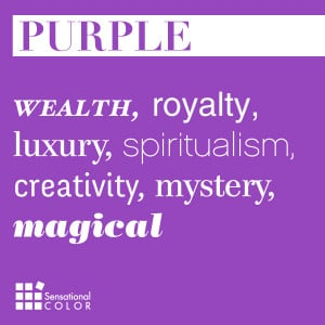 wealth, royalty, luxury, spiritualism, creativity, mystery, magical