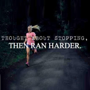 running inspirational quotes for women quotesgram