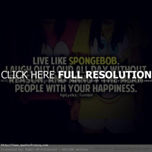 love spongebob Quotes