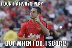 Chicharito Hernandez! Manchester United 3-1 Real Madrid C.F.