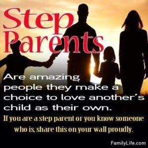 Step parents are amazing