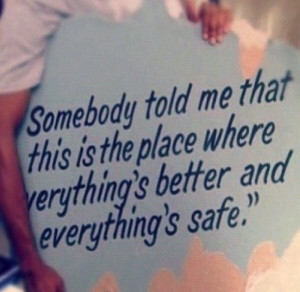 One Tree Hill Quote from Karen's Cafe