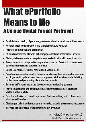student portfolio examples