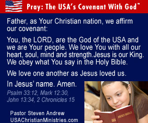 July 4th Christians Rededicate the USA to God