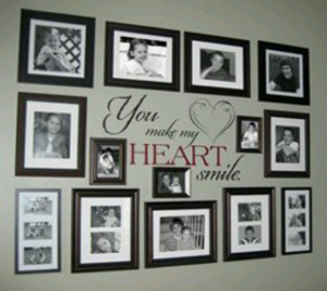 this is exactly how I want my wall to look
