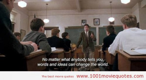 Dead Poets Society Movie Quotes