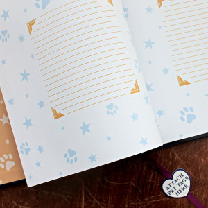 ... > Products > Pet Loss Sympathy Gift Book - Paw Prints in the Stars