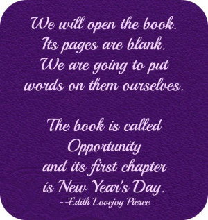 Great Oprah quote for New Years!