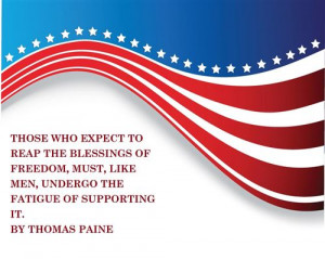 USA Independence Day Best Greetings and Quotes Wallpapers 2014