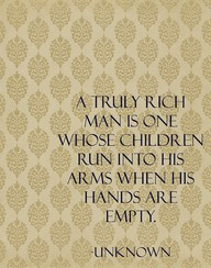 ... Children Run Into His Arms When His Hands Are Empty ~ Future Quote