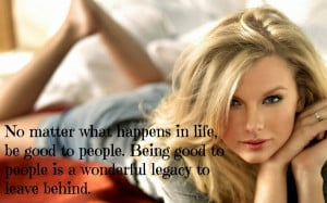 20 Great Inspirational Quotes By Taylor Swift