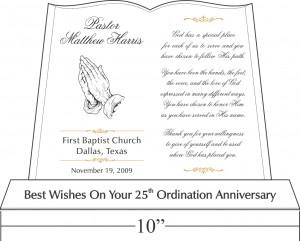 Sample Pastor Anniversary Wordings