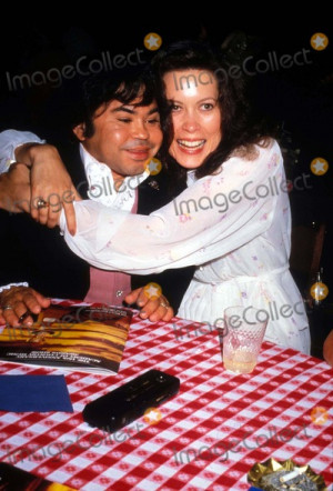 Herve Villechaize Photo - Herve Villechaize and Wife Camille Photo by ...