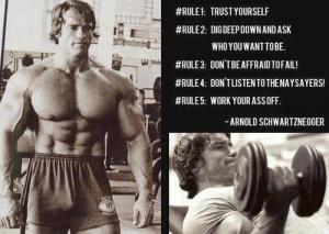 Arnold Schwarzenegger Motivation