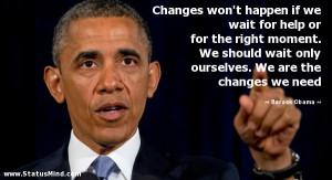 Barack Obama Quotes Inspirational