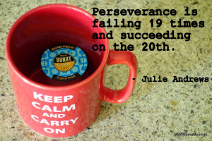 Sunday Morning Coffee – Perseverance #quote #coffee