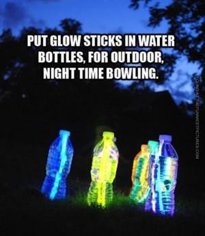 Night time bowling…