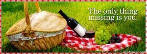 Romantic Picnic Facebook Cover